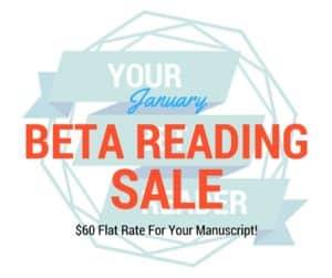 beta reading sale
